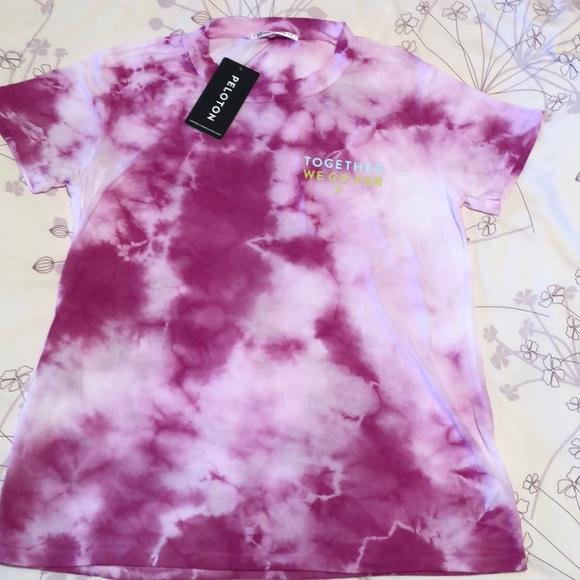 NWT Peloton Tie Dye Tee Shirt XS